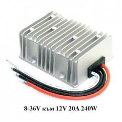 Стабилизатор на напрежение 8-36V към 12V 20A/240W
