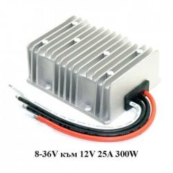 Стабилизатор на напрежение 8-36V към 12V 25A/300W