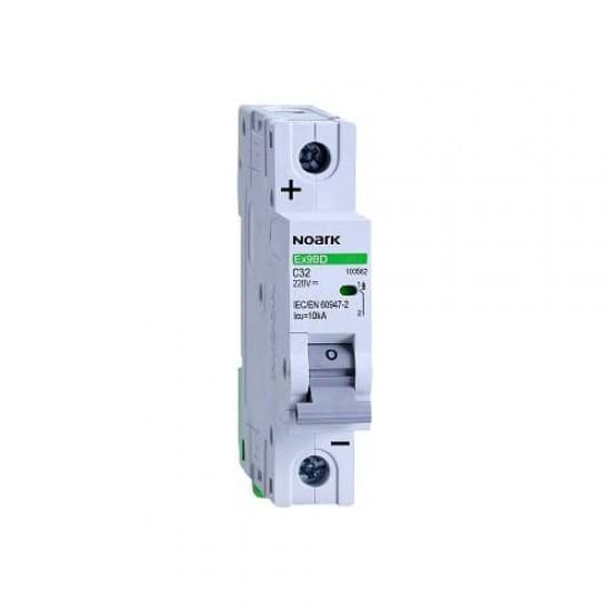 Автоматичен предпазител 1P DC от 10 до 63A еднополюсен