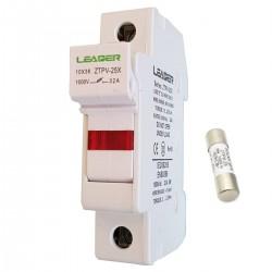 Основа за Стопяем предпазител 10x38 gPV за фотоволтаици 1000V