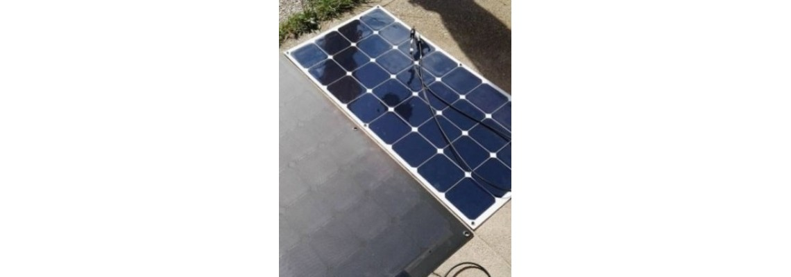 ETFE или PET гъвкави соларни панели