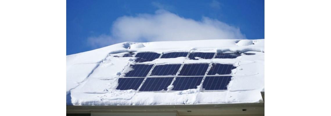 Работят ли соларните панели през зимата?