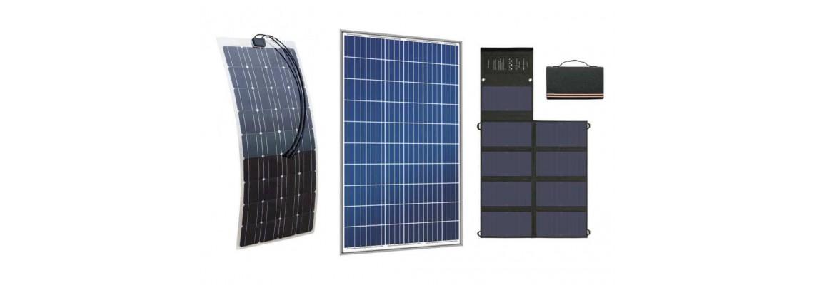 Сравнение между гъвкави,огъваеми, сгъваеми и обикновени соларни панели