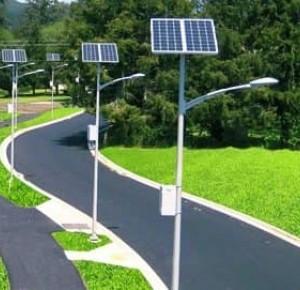 Соларна лампа и нейното приложение в уличното осветление