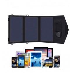 Соларна система за зареждане на телефон, таблет, малък лаптоп 21Wp