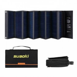 Преносима Соларна зарядна система 60Wp за лаптоп, смартфон, акумулатор