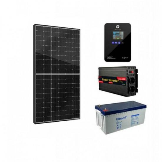 Соларна фотоволтаична система за вила