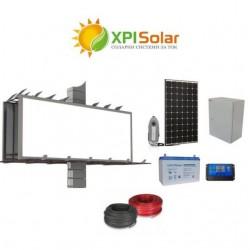 Соларна фотоволтаична система за осветление на билборд 360W