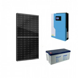 Хибридна соларна система за вила 4.4KW