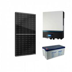 Хибридна соларна система за дом 6.2KW