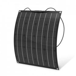 Огъваем монокристален соларен панел 50Wp 12V ETFE