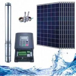 """3"""" Соларна помпа за вода 3.8 куб.м/час, 150 м, 1500W"""