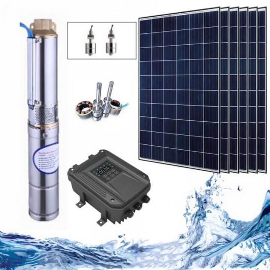 """3"""" Соларна помпа за вода 5 куб.м/час, 72 м, 1100W"""