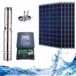 """4"""" Соларна помпа за вода 3.4 куб.м/час, 90 м, 750W"""
