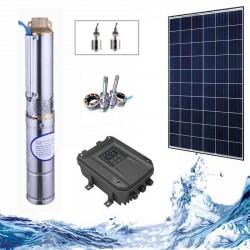 """3"""" Соларна помпа за вода 2.7 куб.м/час, 22 м, 180W"""