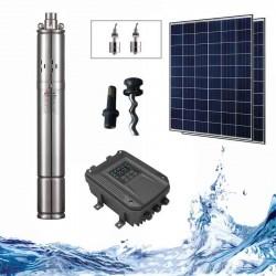 """3"""" Соларна помпа за вода 1 куб.м/час, 30 м, 80W"""