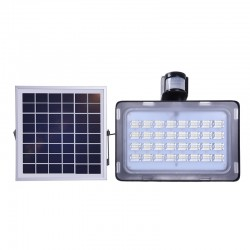 Соларен прожектор с датчик за движение