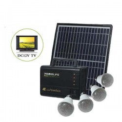 Соларна Система за Телевизор 12V