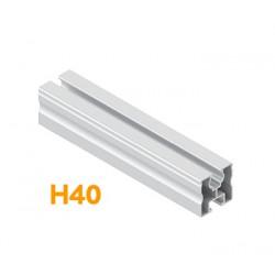 Алуминиев профил 40x40x3250mm - M8/M10 Schletter за соларен панел