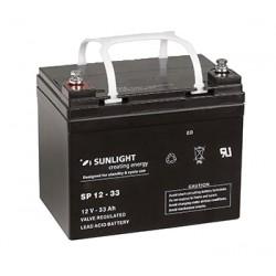 Акумулатор Sunlight AGM 33 Ah