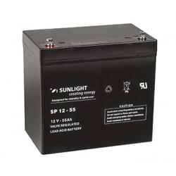 Акумулатор Sunlight AGM 55 Ah