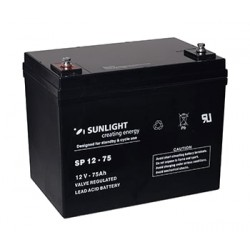 Акумулатор Sunlight AGM 75 Ah