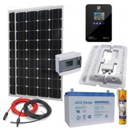 Соларна система за кемпер-каравана 360Wp