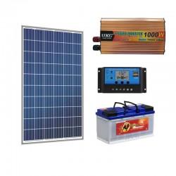 Автономна соларна система за телевизор осветление