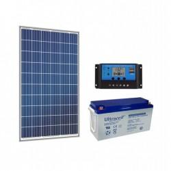 Соларна фотоволтаична система за осветление 180W