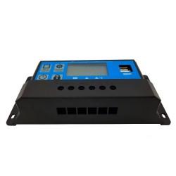 Соларен контролер 40А PWM с дисплей