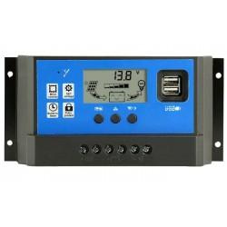 Соларен контролер 60А PWM с дисплей