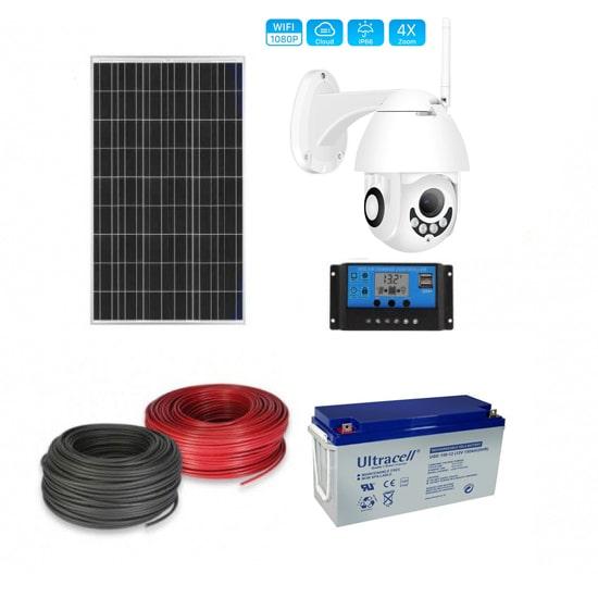 Соларна камера с WiFi  за видеонаблюдение