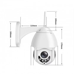 Wifi Камера За Видеонаблюдение с Ротация и Говорител